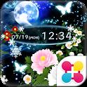 雪月風花 for[+]HOMEきせかえテーマ icon