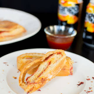 Pepperoni Pizza Stromboli.