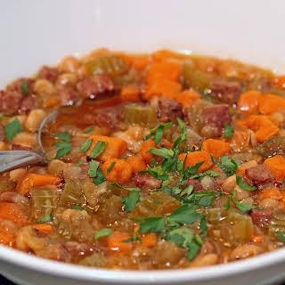 Sweet Potato White Bean Soup Recipes.