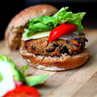 Mushroom and Quinoa Vegan Burger