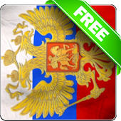 Russia flag free livewallpaper