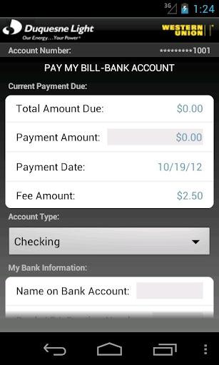 Duquesne Light Mobile Payments