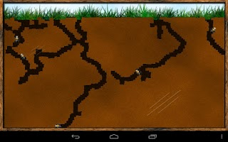 Screenshot of Angry Ants (Ant Farm)