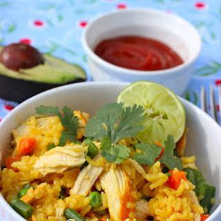 Chicken and Rice (Arroz con Pollo).