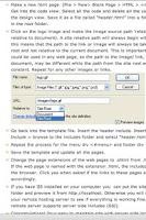 Screenshot of Dreamweaver Tutorials - Lite