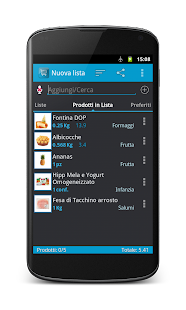 valpie Shopping List, La Spesa- screenshot thumbnail