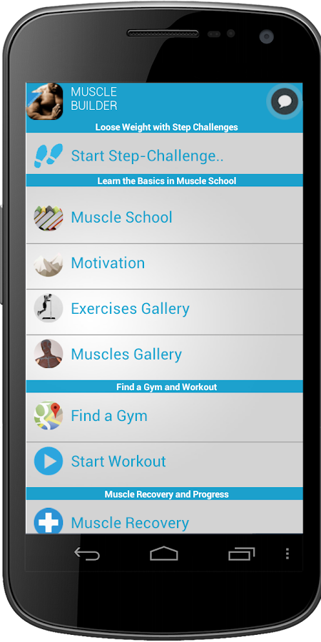 Muscle Builder - screenshot