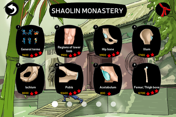 Anatomy Ninja Lower Limb - screenshot