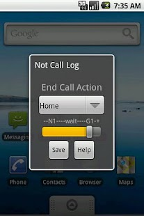 Not Call Log Classic- screenshot thumbnail
