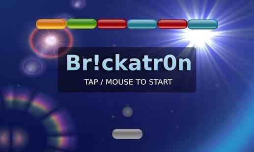 Brickatron Arkanoid #1GAM - screenshot thumbnail