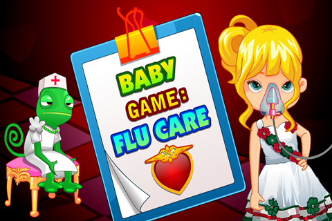 Baby Game : Flu Care