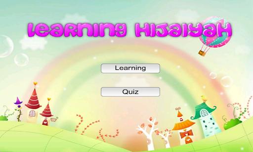 Learning Hijaiyah