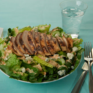 Grilled Chicken Buffalo Salad.