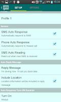 Screenshot of Auto SMS Lite(Autoresponder)