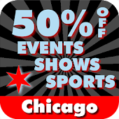 50% Off Chicago Shows & Sports
