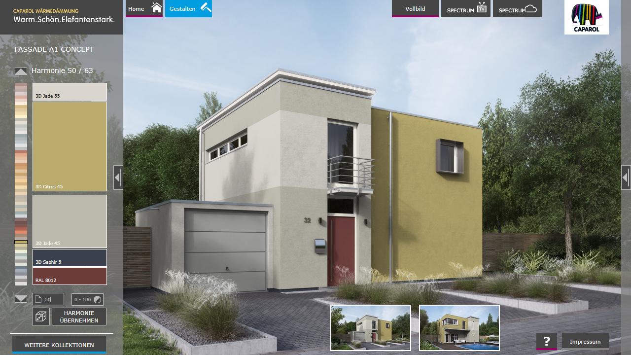 Fassadenfarben konfigurator kostenlos  Caparol Fassaden Konfigurator – Android-Apps auf Google Play