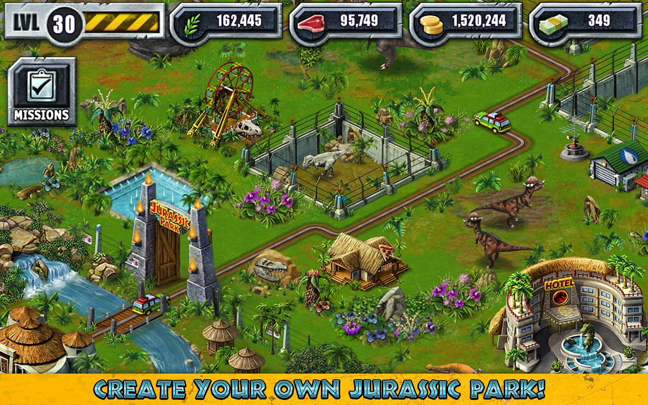 jurassic park builder cheats