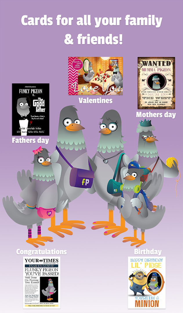 Funky Pigeon Cards Gifts Revenue Download Estimates Google