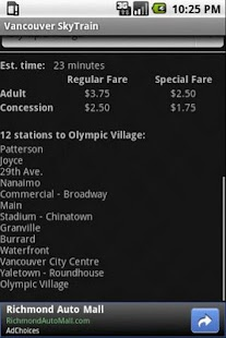 Vancouver SkyTrain- screenshot thumbnail
