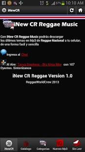 iNew CR Reggae Music - screenshot thumbnail
