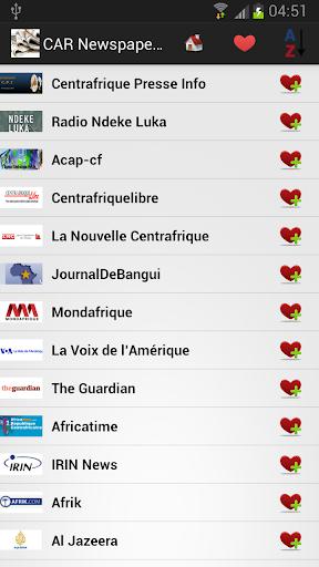 中非共和国报纸