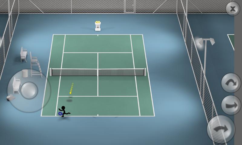 Stickman Tennis screenshot #9