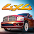 Drag Racing 4x4 logo