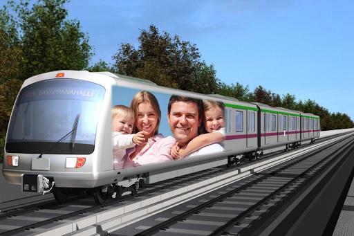 Train Photo Frame Editor