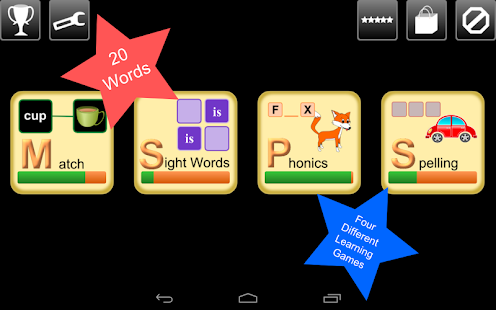 Kindergarten Word Play Lite - Android Apps on Google Play