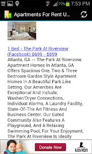 Apartments For Rent USA Finder screenshot 2