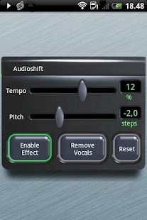 Audioshift Tempo+Pitch Control - screenshot thumbnail