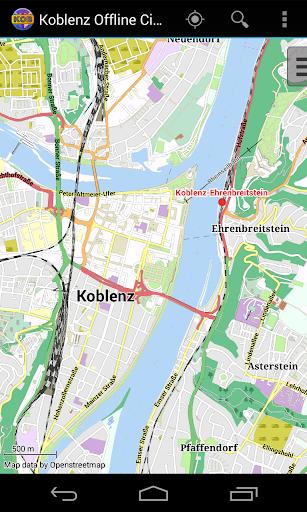 Koblenz Offline City Map