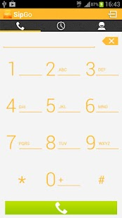 SipGo Sip dialer Low bandwidth - screenshot thumbnail