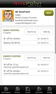 RivePoint - Coupons on the Go!- screenshot thumbnail