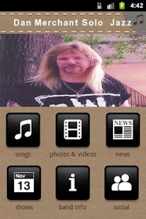 Dan Merchant Solo Jazz - screenshot thumbnail