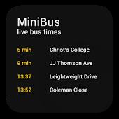 miniBus - Live bus data