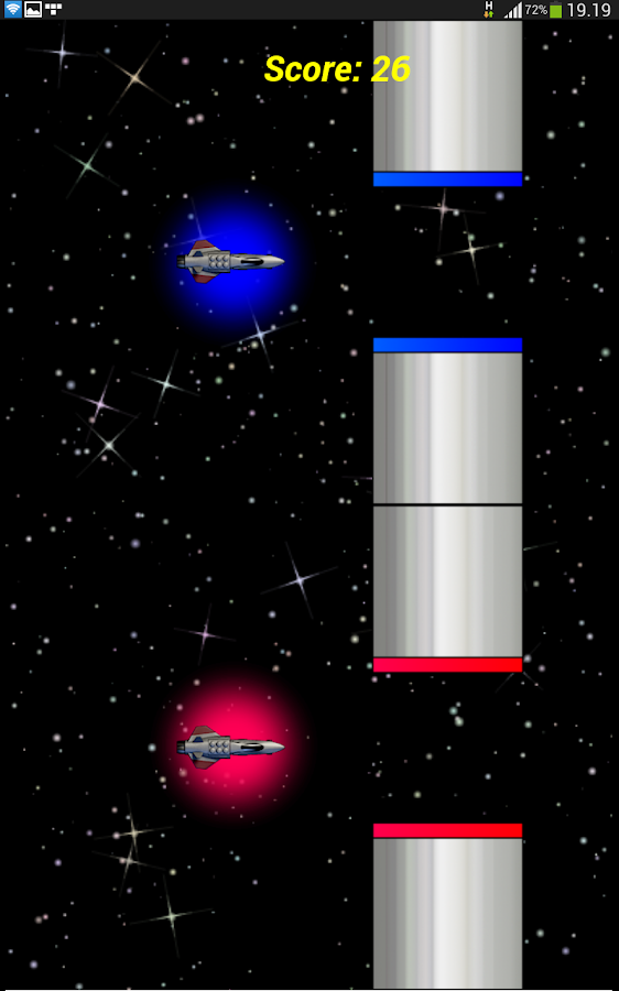 Swing Rocket Dash- screenshot