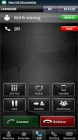 Screenshot of MaxMobile for Lync