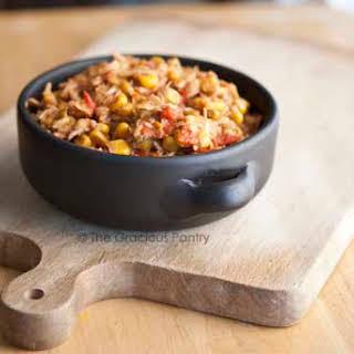 Clean Eating Tortilla Chicken Stew.