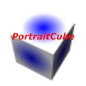 PortraitCube logo