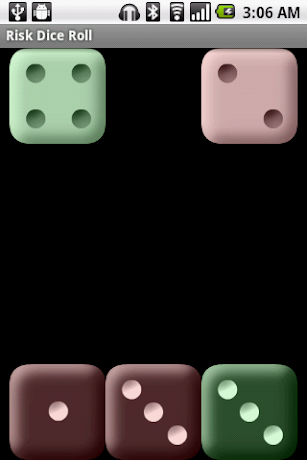 Risk Dice Roll screenshot for Android
