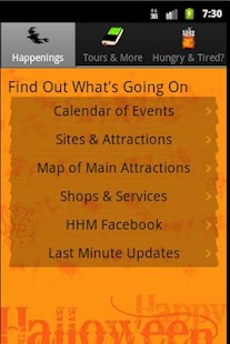 Haunted Happenings Magazine - screenshot thumbnail
