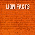 Lion Facts icon