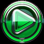 Poweramp skin Green Glas delux
