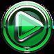 Poweramp skin Green Glas delux image