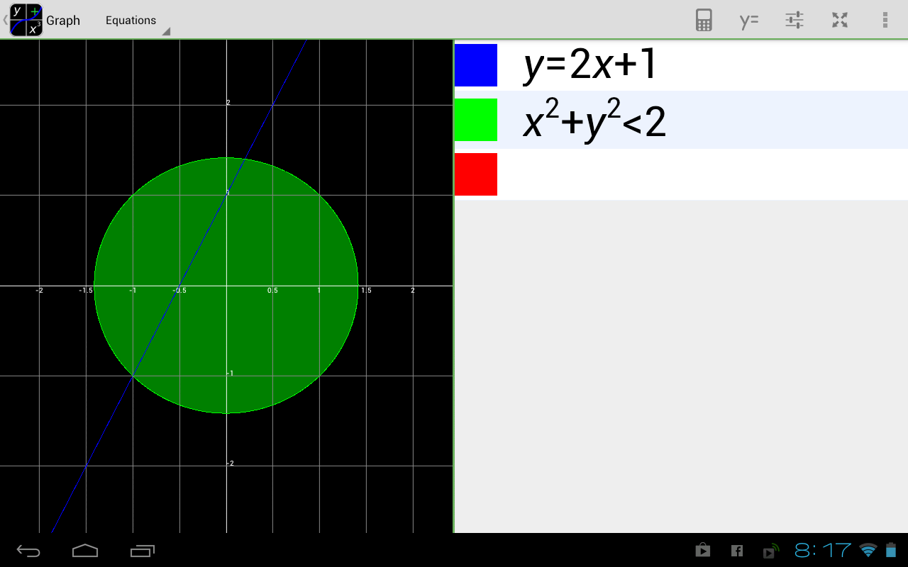 MathAlly Graphing Calculator - screenshot