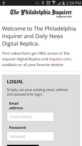 Philadelphia Inquirer Replica