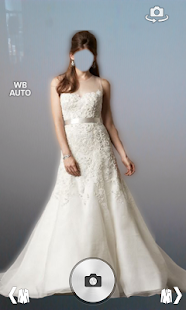 Wedding Dress Photo Montage screenshot