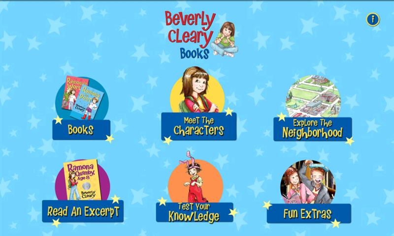 Beverly Cleary Books- screenshot