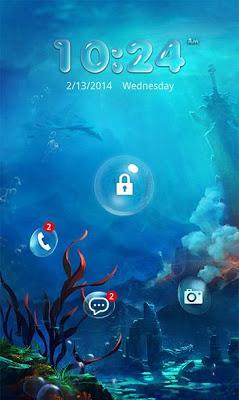 Pop Locker Water World Theme - screenshot